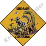 Dinosaur Crossing - Sign