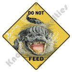 Do Not Feed - Alligator - Sign