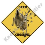 Deer Crossing - Sign
