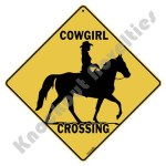 Cowgirl Crossing - Sign