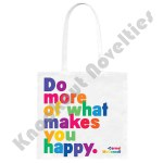 "Quotable Tote Bag - ""Do More Of What Makes You Happy"" - Carmel Mcconnell - Mcconnell"