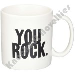"Quotable Mug - ""You Rock"" - Saying"