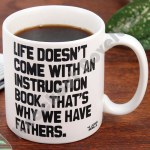 "Quotable Mug - ""Life Doesn'T Come With"" - H. Jackson Brown, Jr."