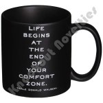 "Quotable Mug - ""Life Begins At The End"