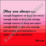 "Quotable Magnet - ""May You Always"