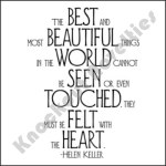 "Quotable Magnet - ""The Best And Most Beautiful"