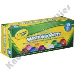 Crayola: 10 Piece 2 oz. Washable Paint