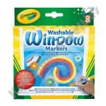 Crayola: 8 Piece Washable Window Markers
