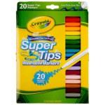 Crayola: 20 Piece Washable Markers - Super Tips