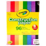 Crayola: 96 Piece Construction Paper
