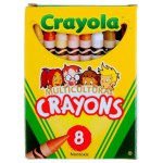 Crayola: 8 Piece Crayons - Multicultural Colors