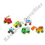 City Service Wooden Vehicles