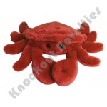 "8"" Plush Crab - Red"