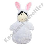 "Plush - 6"" Snuggle Pods - Baby Bunny"