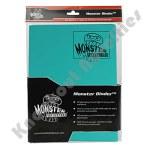 Monster Binder: 9 Pocket Matte Teal