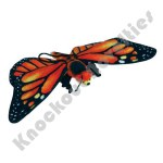 "13"" Monarch Butterfly Plush"
