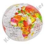 "16"" Inflatable Clear Globe"