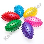 "(Dozen)  4"" Inflatable Knobby Football"