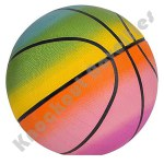"9.5"" Rainbow Basketball"