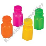 "(48 Count)1.75"" Neon Bubble Bottles"
