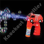 "5"" Light And Sound Fire Truck Bubble Blaster"