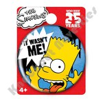 Button Pin - Simpsons - Bart