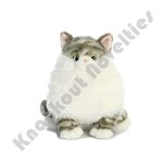 Plush - Cat - Dumpling Tabby  - Fat Cat