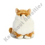 Plush - Cat - Butterball Tabby  - Fat Cat