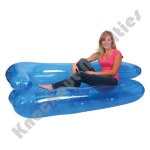"""71"""" Inflatable Three Person Sofa"""