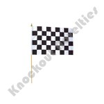 "(Dozen) - 12""X 18"" Racing Flag Polyester"