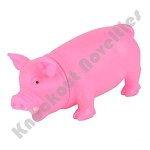 "8"" Pink Snorting Pig"