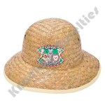 (Dozen) Child Size Straw Safari Hat
