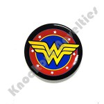 Button Magnet & Bottle Opener - DC Comics - Wonder Woman Logo