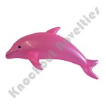 "40"" Inflatable Pearlized Dolphin - Pink"