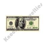 """(Dozen) 2.75"""" x 1.25"""" $100 Bill Eraser"""