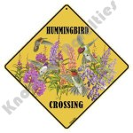 Hummingbird Crossing - Sign