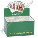 24 Decks Spanish Plastic Cards