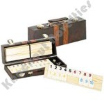 Deluxe Rummy with Wooden Rack