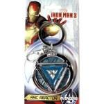Key Ring -  Marvel - Iron Man Arc Reactor (Glow In The Dark)