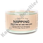 Napping Candle