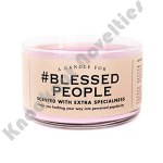 #Blessed People Candle