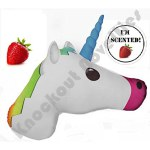 Mojicon Unicorn Pillow - Strawberry Scented