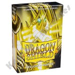 60 Deck Protector Sleeves: Dragon Shield: Japanese Matte - Yellow