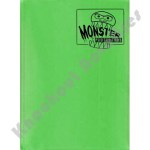 Binder: 9 Pocket Monster Matte Emerald Green