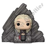 POP Deluxe: Game Of Thrones Series 8 - Daenerys on Dragonstone Thron