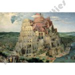 300 Piece Mini Glow-In-The-Dark Puzzle: The Tower Of Babel