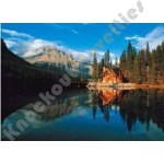 500 Piece Glow-In-The-Dark Puzzle: Banff National Park