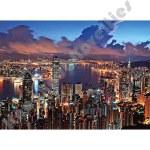 500 Piece Glow-In-The-Dark Puzzle: Hong Kong Night Scene