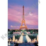 1000 Piece Glow-In-The-Dark Puzzle: Eiffel Tower