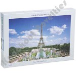 1000 Piece Puzzle: Eiffel Tower, France